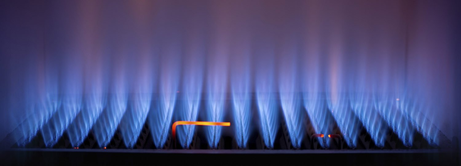 how to turn on gas central heating